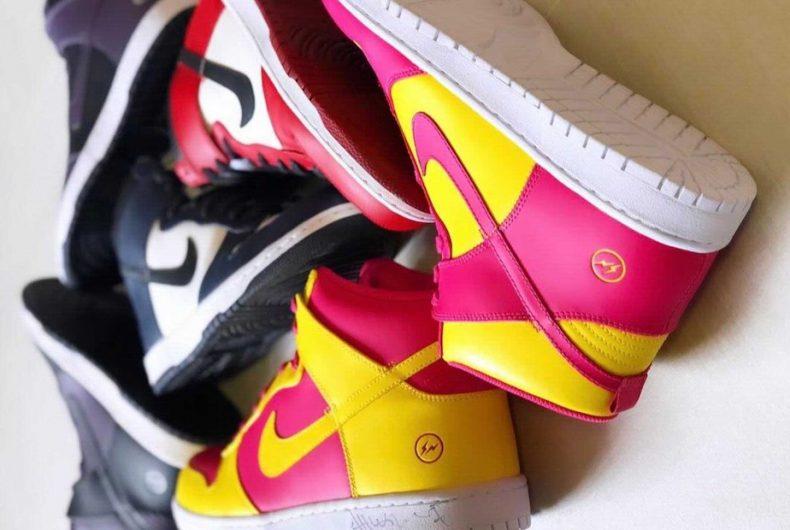 """Il possibile ritorno del fragment x Nike Dunk High """"City Pack"""""""