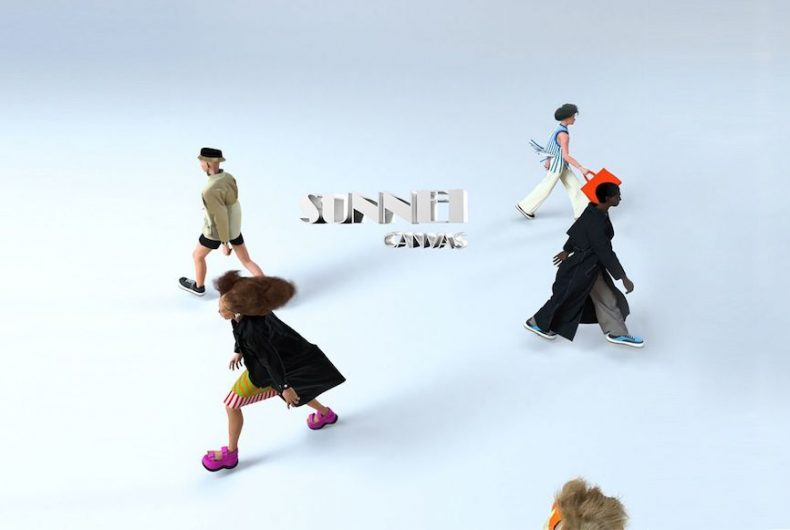 SUNNEI's endless video game for FW20/21