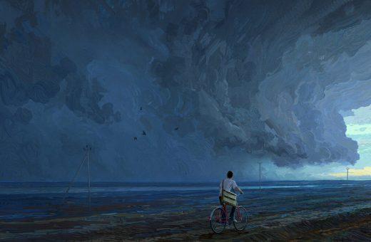 Tra realtà e fantasia, i dipinti digitali di Artem Chebokha