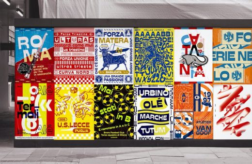 """Coppa Stadio"", the graphic poster league"