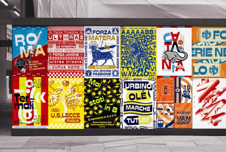 """""""Coppa Stadio"""", the graphic poster league"""