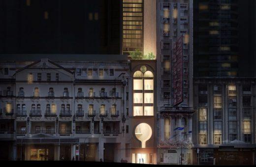 The narrow skyscraper by Durbach Block Jaggers