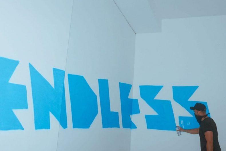Dagli Uffizi a Cortina, la street art di Endless
