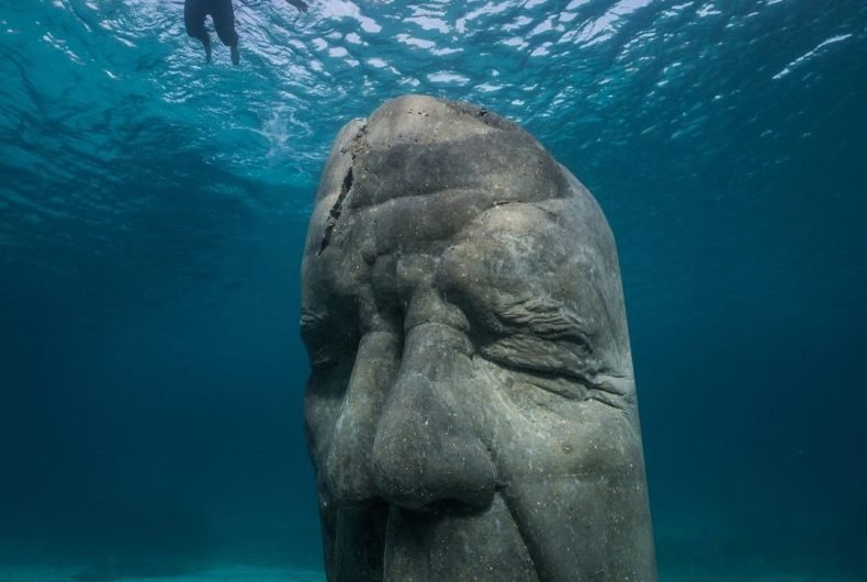 The underwater museum created by Jason deCaires Taylor