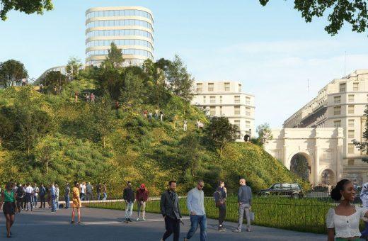 MVRDV's project for Oxford Street in London