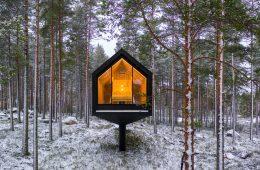 Niliaitta, the cabin hidden in the Finnish woods