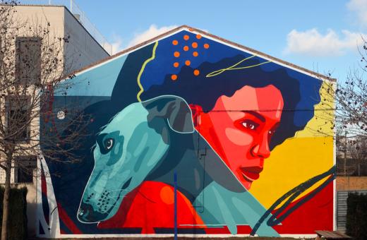 Diego Vicente, un illustratore e street artist multidisciplinare