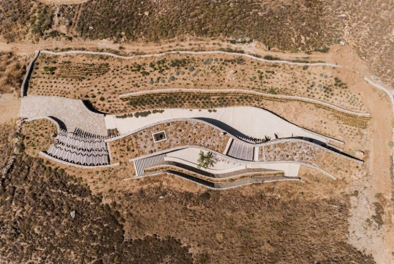 The hidden house in Serifos island by Sinas architects