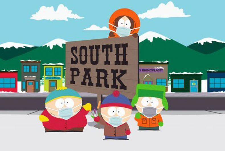 The second special episode of South Park on the pandemic