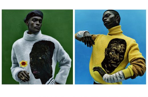 Amoako Boafo's artworks in Dior's Summer '21 campaign