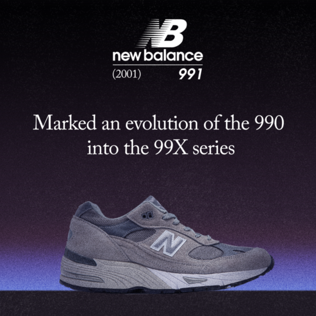 I 20 anni della New Balance 991 Made in UK | Collater.al