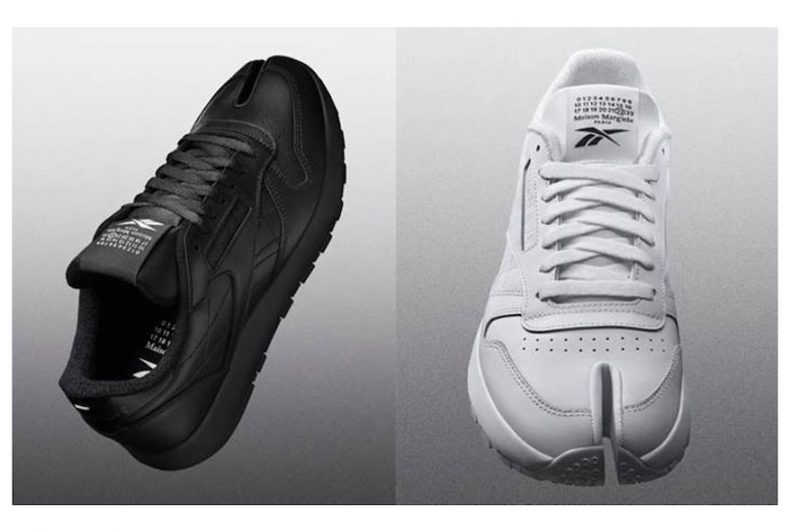 The Classic Leather Tabi by Maison Margiela and Reebok