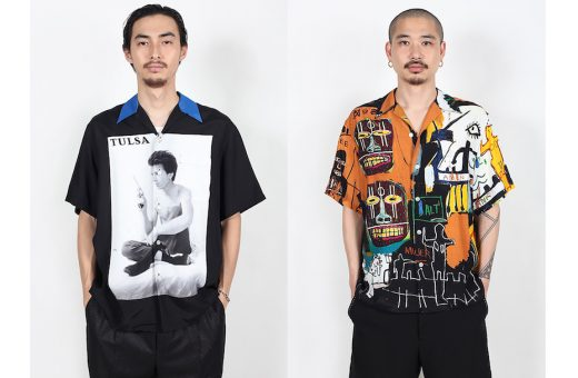 WACKO MARIA's SS21 with Larry Clark and Basquiat