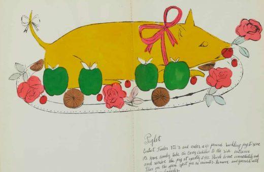 """""""Wild Raspberries"""", all'asta uno dei libri di ricette di Andy Warhol"""