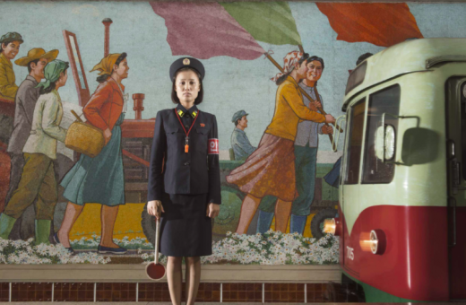 Stephan Gladieu's unique shots in North Korea