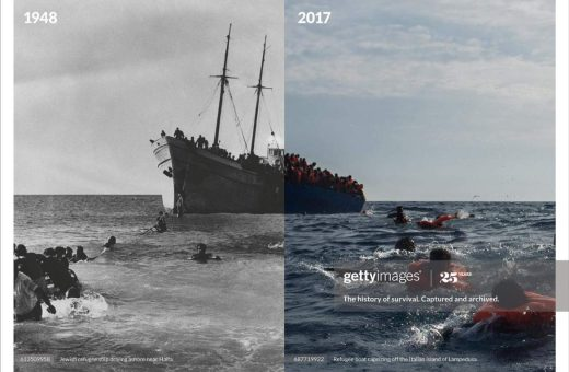 """""""History Repeats"""", the latest campaign by Getty Images"""