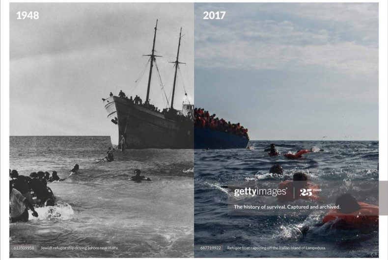 """""""History Repeats"""", la nuova campagna di Getty Images"""