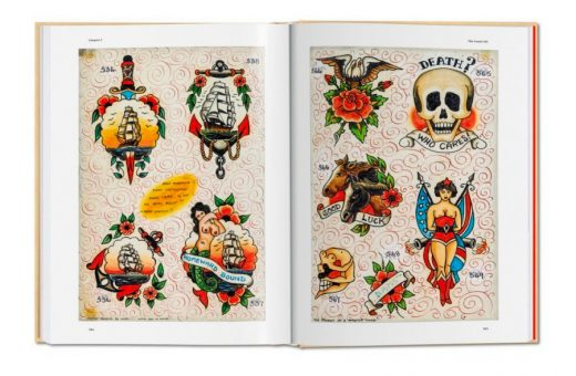 Three centuries of tattoo told in a book by Henk Schiffmacher