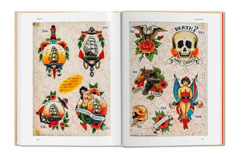 Three centuries of tattoo told in a book by Henk Schiffmacher