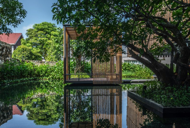House68, the house made of pavilions by Design Collective Architects
