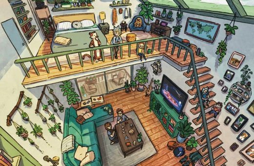 JR Eisma turns your homes into illustrations
