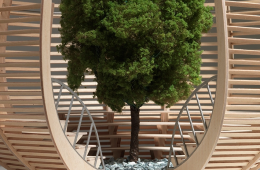 """Arena for a Tree"", the new installation by Klaus Littmann"