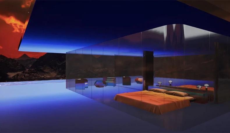 """Mars House"", la prima casa in formato digitale in vendita in NFT"