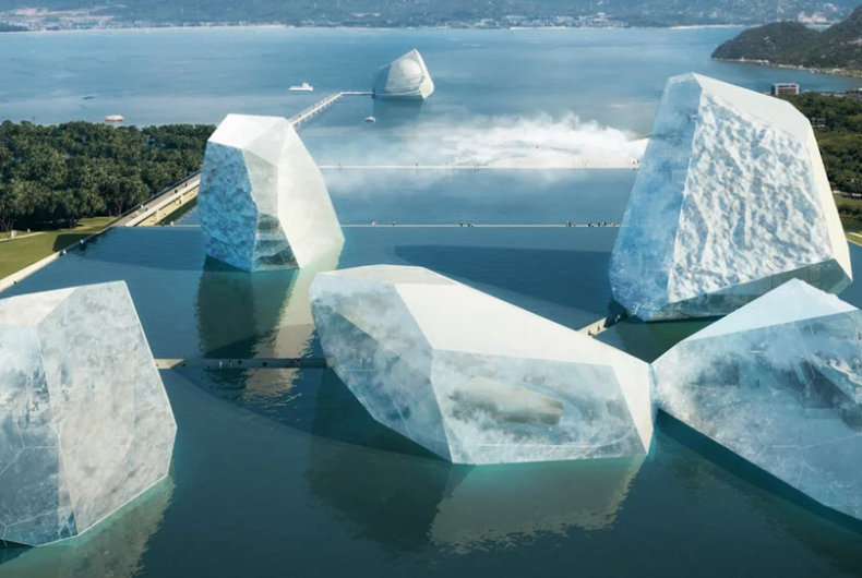 """""""The Icebergs and the Sea"""",  the Open Architecture project"""