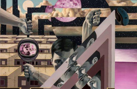 I dipinti distopici e futuristici di Victor Fota