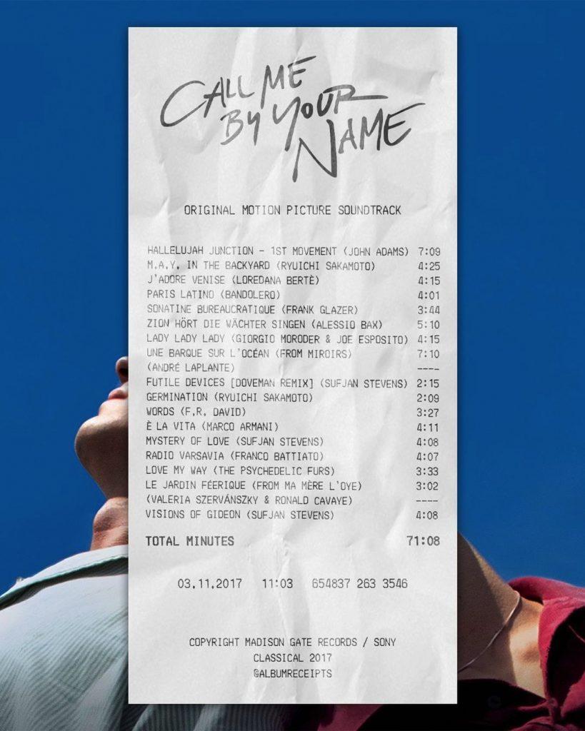 album receipts | Collater.al