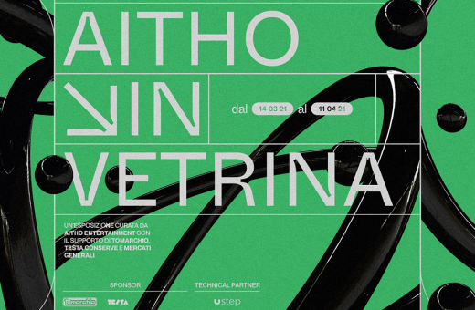 """Aitho in vetrina"", a traveling exhibition in the streets of Catania"