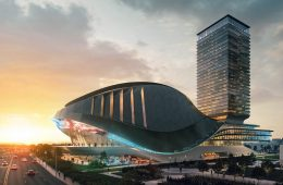 The eSports stadium in Toronto by Populous