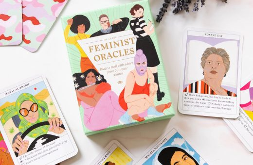 Feminist Oracles, the illustrated tarot by Laura Callaghan