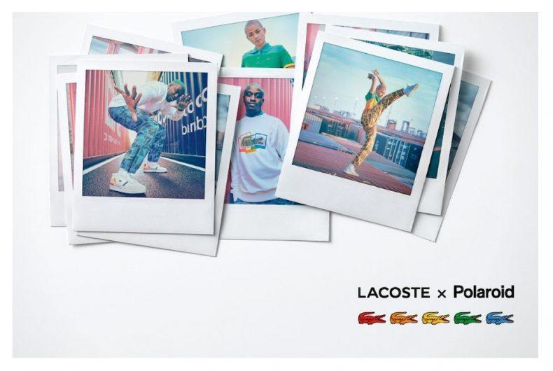 La prima capsule di Lacoste in collaborazione con Polaroid