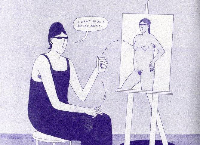 """""""Sidelong Glance"""" di Maisie Cowell, un fumetto indulgente"""