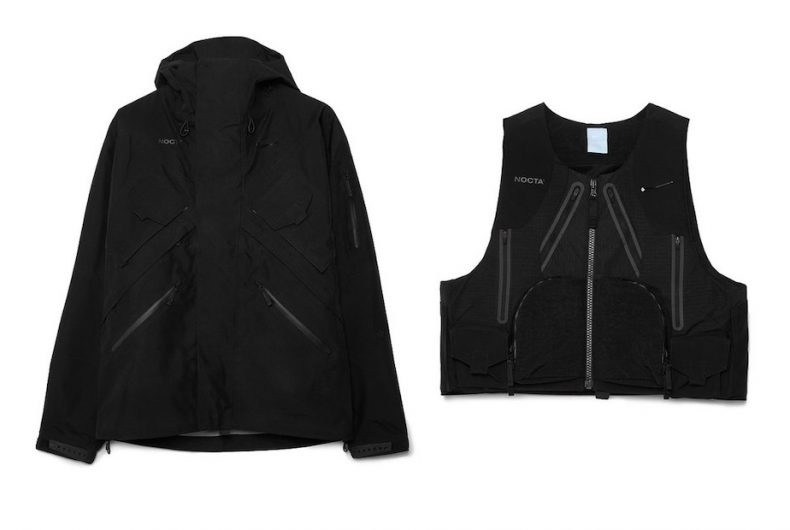 The capsule collection in GORE-TEX by NOCTA