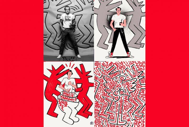 Astrazione, la nuova serie illustrata di Riccardo Guasco