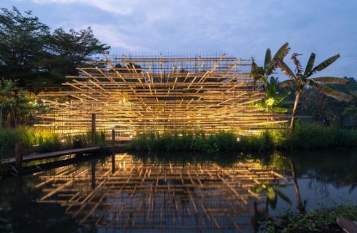"""""""Ashui Pavillon"""", l'installazione dello studio di design MIA"""