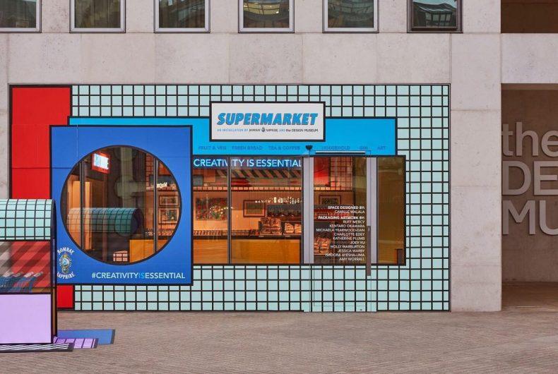 Il supermarket di Camille Walala che nutre la creatività