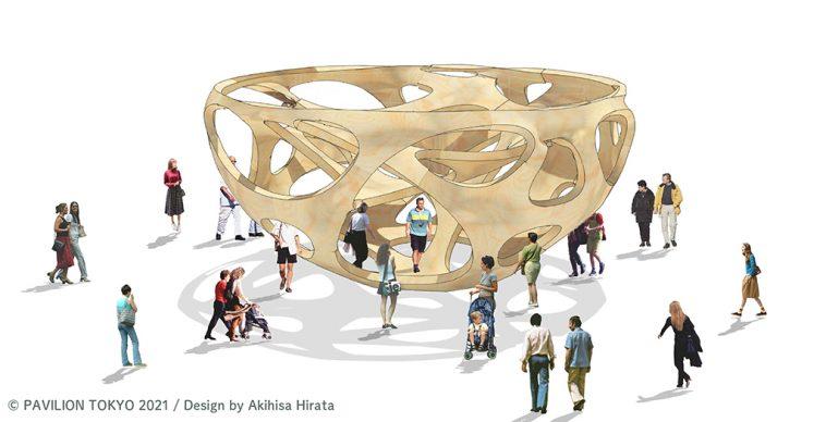 Gli 8 padiglioni d'artista per le Olimpiadi di Tokyo
