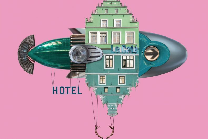 The Flying Hotels by Matthias Jung