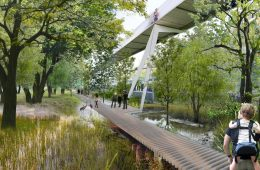 Here is the first project for the 2026 Winter Olympics in Milan