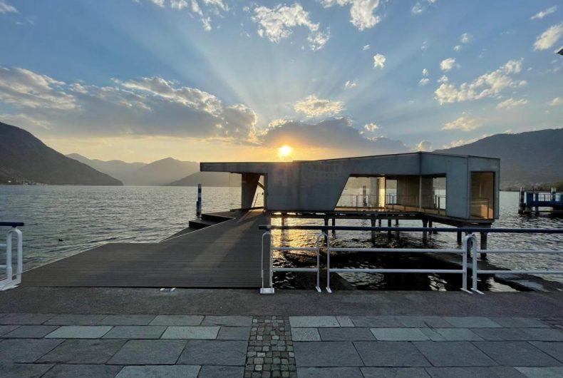 """""""Mirad'Or"""", l'installazione site-specific sul lago d'Iseo"""