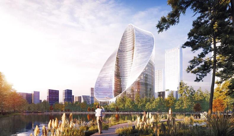 """""""O-tower"""", il nuovo quartier generale di OPPO a Hangzhou"""