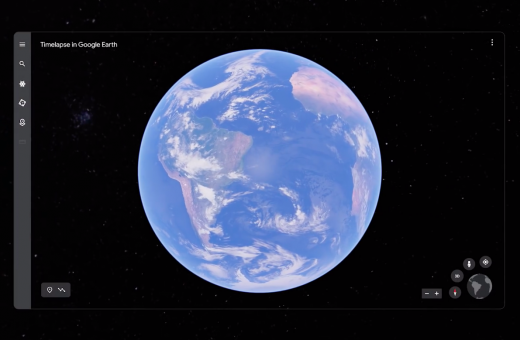 Earth Timelapse, the new Google Earth feature