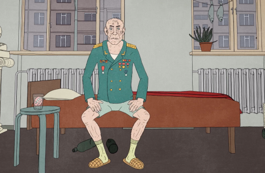 Cosmonaut, the animated short by Kaspar Jancis