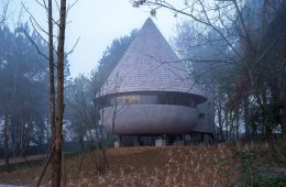The Mushroom, the house hidden in the forest