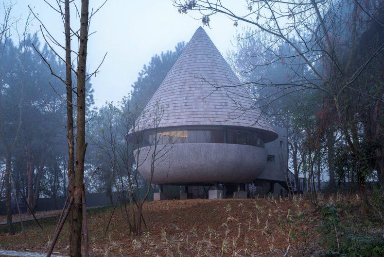 The Mushroom, la casa a forma di fungo nascosta nella foresta