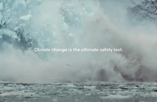 """The ultimate safety test,"" Volvo's spot for the environment"