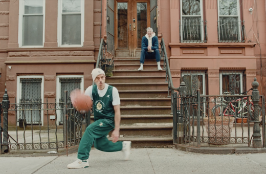 Aimé Leon Dore's campaign is a declaration of love to basketball
